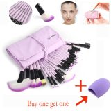 Beli Vander 32 Pcs Ungu Fashion Lembut Kosmetik Alis Mata Alis Makeup Brush Set Kit Makeup Brush Brush Egg Beli 1 Mendapatkan 1 Gratis Intl Seken
