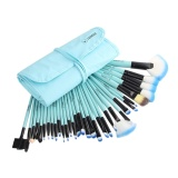 Vander Hidup 32 Pcs Set Make Up Brush Set Alat Make Up Kuas Makeup Toiletry Kit Biru Kirim Hadiah Kecil Oem Diskon 40