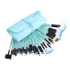 Harga Vander Hidup 32 Pcs Set Make Up Brush Set Alat Make Up Kuas Makeup Toiletry Kit Biru Kirim Hadiah Kecil Termahal