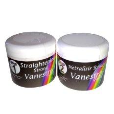 Toko Vanestrix Rebonding Cream Pelurus Rambut Step 1 2 250 Gram Online Terpercaya
