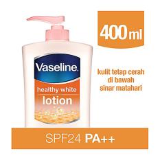 Harga Termurah Vaseline Healthy White Spf24 400Ml