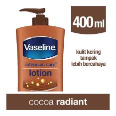 Spesifikasi Vaseline Lotion Intensive Care Cocoa Radiant 400Ml Murah Berkualitas