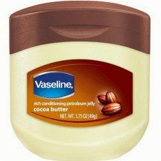 Promo Toko Vaseline Petroleum Jelly Original Cocoa Butter Usa 49 Gram