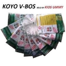 Beli Vbos Koyo Kaki Bamboo Gold Foot Patch 10 Set Koyo Kaki V Bos Cicil