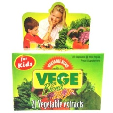 Review Vege Blend Vegetable 21 Jr For Kids 30 Kapsul Vege Blend Fruit