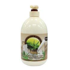 Jual Velvy Sabun Goat Milk Shower Cream Green Tea 1000Ml Velvy Asli