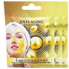 Beli Vienna Anti Aging Face Mask Luxurious Gold 6 Sachet 20Ml Anti Aging Mask Cicilan