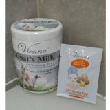 Cara Beli Vienna Lulur Body Scrub Goat S Milk 1Kg Vienna Peel Off Mask Egg White 15Ml