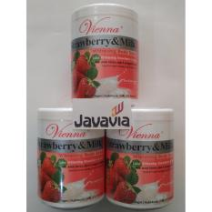 Beli Vienna Lulur Body Scrub Whitening Strawberry Milk 1Kg Cicilan