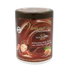 Jual Vienna Chocolate Nourishing Body Scrub 1Kg Pot Vienna Branded