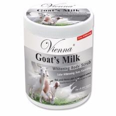 Promo Vienna Goat S Milk Whitening Body Scub Lulur Susu Kambing 1Kg Vienna