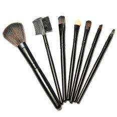 Jual Vienna Linz Kuas Cosmetic Professional Make Up Brushes Set 7 Pc Hitam Lengkap