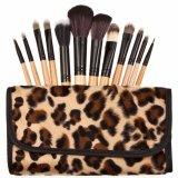 Harga Vienna Linz Kuas Make Up Cosmetic Brush Professional 12 Pcs Leopard Makeup Set Kit Tool Brushes Super Soft Pouch Bag Case Tas Dompet Motif Leopard Kosmetik Peralatan Kecantikan Wanita Profesional Bulu Halus Lembut Beauty Face Coklat Baru