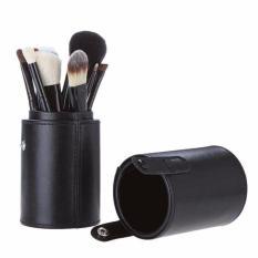 Review Vienna Linz Kuas Make Up Cosmetic Brush Professional 12 Set With Round Case Black Dki Jakarta