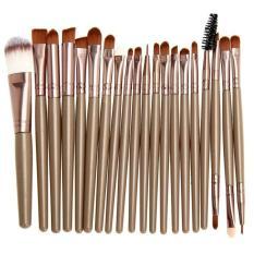 Harga Vienna Linz Kuas Make Up Cosmetic Brush Professional 20 Pcs Makeup Set Kit Tool Brushes Super Soft Pouch Peralatan Kecantikan Wanita Profesional Bulu Halus Lembut Tidak Cepat Rontok Lengkap Beauty Face Brown Yg Bagus