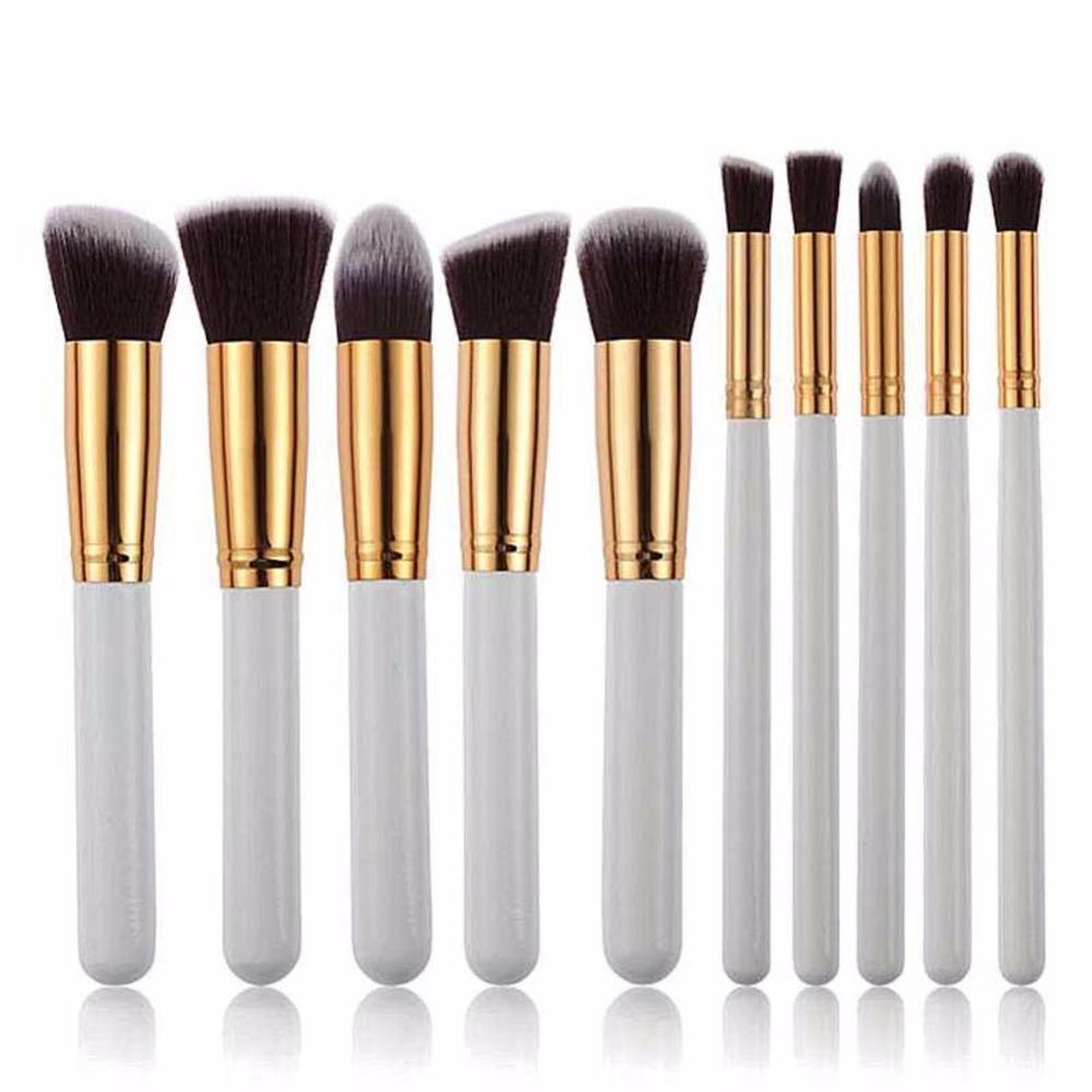 Promo Jbs New York Makeup Brush 11pcs Set Kuas Ny 7 Bulu Wool Pink K074 Vienna Linz Make Up Cosmetic 11 Pcs With Pouch