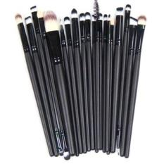 Harga Vienna Linz Kuas Make Up Cosmetic Brush Professional Set 20 Pc Hitam Branded
