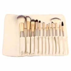 Spek Vienna Linz Kuas Make Up Persia 12 Pcs Dengan Dompet Professional Cosmetic Brush Gold Vienna Linz