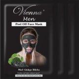 Spesifikasi Vienna Men Peel Off Face Mask Mud Ginkgo Biloba 3Pcs Yg Baik