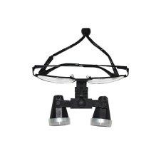 Vinmax 3.5X420mm High-end Mewah The Generous Logam Bedah Medis Teropong Loupe Gigi Kaca Optik Loupe FDA CE (Hitam)