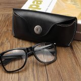 Harga Vintage Handmade Cow Leather Glasses Case Causal Jeans Belt Eye Glasses Box Bag Black Intl Yg Bagus