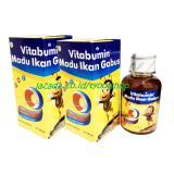Jual Vitabumin Madu Albumin Anak 130Gr Paket 2 Botol Original Hologram Branded Murah