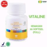 Pusat Jual Beli Vitaline Nutrisi Kulit Pemutih Tubuh Wajah Vitaline 30 Kaps Promo Indonesia