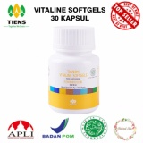 Beli Pemutih Tubuh Vitaline Softgel 30 Kapsul Supplement Tiens Murah