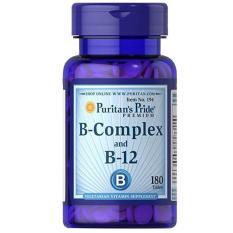 Jual Cepat Vitamin B Complex B12 180 Tablets Usa Jantung Saraf Sehat