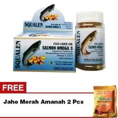 Vitamin Untuk Otak Anak Minyak Ikan Salmon Squalene Omega 3