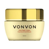 Jual Beli Vonvon Gold Night Cream 24K Anti Aging 50 Ml Baru Indonesia