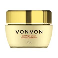 Harga Vonvon Gold Night Cream 24K Anti Aging 50 Ml Baru Murah