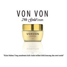 Vonvon Gold Night Cream Anti Penuaan Dini - 50ml Asli Lejel Made in Korea | Magic Plus MagicPlus
