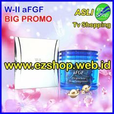 W-II aFGF Skin Softening Essence - Serum Perawatan Kecantikan Wajah & Anti Aging Alami (Afterglow / After Glow Factor) - Jaminan Asli EzShop - Ez Shop Tv Home Shopping Indonesia