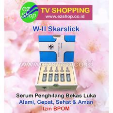 W-II Skarslick Skin Softening Essence - Serum / Obat Penghilang Bekas Luka Alami (Skar Slick) - Jaminan Asli EzShop - Ez Shop Tv Home Shopping Indonesia