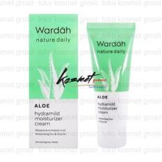 Wardah Hydrating Moisturizer Cream Kesehatan & Kecantikan Rias Source Wardah Aloe Hydramild Moisturizer Cream 40ml
