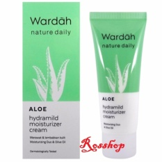 Wardah Aloe Hydramild Moisturizer Cream - 40ml