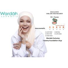 Jual Wardah Exclusive Creamy Foundation 04 Natural Baru