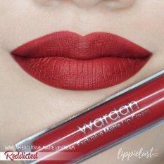 Wardah Exclusive Lip Cream Matte 01 Red Dicted Diskon North Sumatra