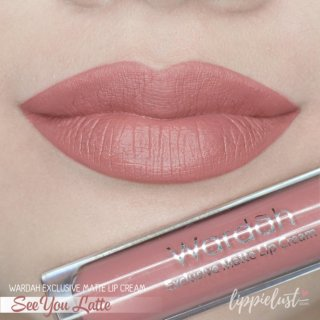Wardah Exclusive Lip Cream Matte - 03 See You Latte thumbnail