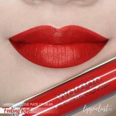 Promo Wardah Exclusive Lip Matte Cream 06 Feeling Red Wardah Cosmetics