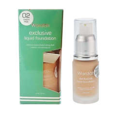 Jual Wardah Exclusive Liquid Foundation Sheer Pink 02 Ori