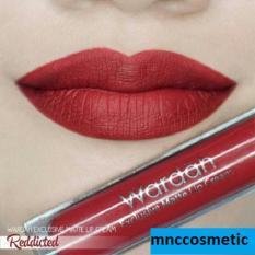 Review Wardah Exclusive Matte Lip Cream 01 Reddicted Terbaru