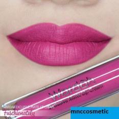Wardah Exclusive Matte Lip Cream 02 Fuschionately