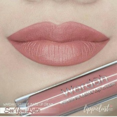 Wardah Exclusive Matte Lip Cream - 03 See You Latte
