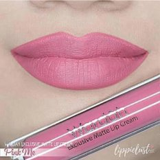 Wardah Exclusive Matte Lip Cream - 04 Pink Me