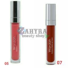Wardah Exclusive Matte Lip Cream 05 Speachless dan 07 Hello Ruby