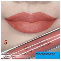 Wardah Exclusive Matte Lip Cream 05 Speechless - Paket 2Pcs