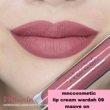 Ulasan Lengkap Wardah Exclusive Matte Lip Cream 09 Mauve On