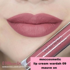 Cuci Gudang Wardah Exclusive Matte Lip Cream 09 Mauve On
